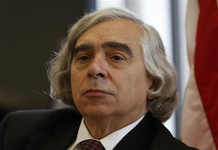 U.S. Energy Secretary Ernest Moniz speaks during an interview at his office at the Department of Energy in Washington July 18, 2013. REUTERS/Kevin Lamarque