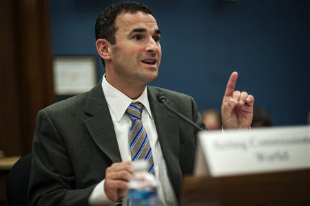Principal Deputy IRS Commissioner Daniel Werfel testifies before the House Small Business Committee at a hearing on ''The Internal Revenue Service And Small Businesses: Ensuring Fair Treatment'' in Washington, July 17, 2013. REUTERS/James Lawler Duggan