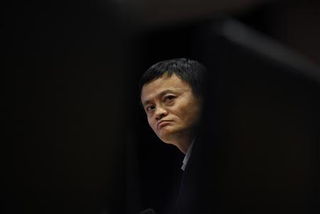 Jack Ma, chairman of China's largest e-commerce firm Alibaba Group, attends a corporate event at the company's headquarters on the outskirts of Hangzhou, Zhejiang province in this April 23, 2013 file photo. REUTERS/Carlos Barria/Files