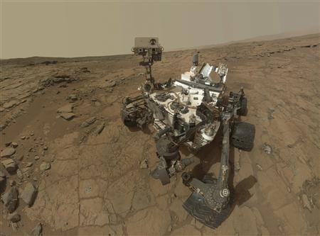 This self-portrait of NASA's Mars Curiosity rover is shown in this NASA handout composite image released May 30, 2013. REUTERS/NASA/Handout via Reuters