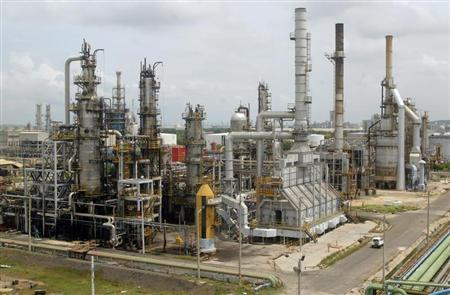 A general view of Cartagena's oil refinery August 24, 2006. REUTERS/Fredy Builes