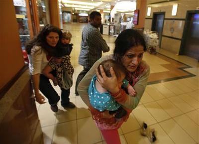 Islamists claim gun attack on Nairobi mall, at least...