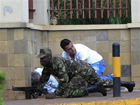 Kenyan president says 39 dead in mall attack, will beat terrorists
