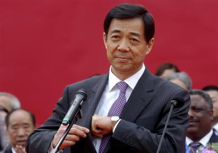 Bo Xilai, then China's Minister of Commerce, attends the opening ceremony of a China International SME fair in Zhengzhou April 26, 2007. REUTERS/Stringer/Files