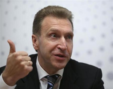 Russian First Deputy Prime Minister Igor Shuvalov takes part in the Reuters Investment Summit in Moscow September 23, 2013. REUTERS/Sergei Karpukhin