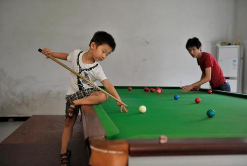 3-year-old snooker prodigy