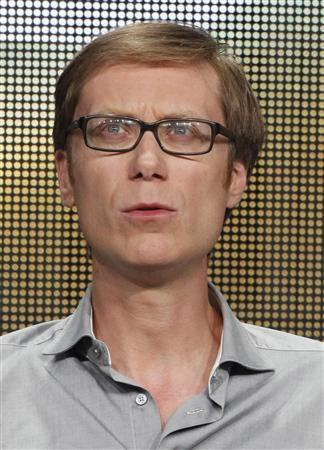 Stephen Merchant, cast member, executive producer and director of HBO's series ''Hello Ladies'' takes part in a panel discussion at the Television Critics Association Cable TV Summer press tour in Beverly Hills, California in this July 25, 2013 file photograph. REUTERS/Fred Prouser/Files