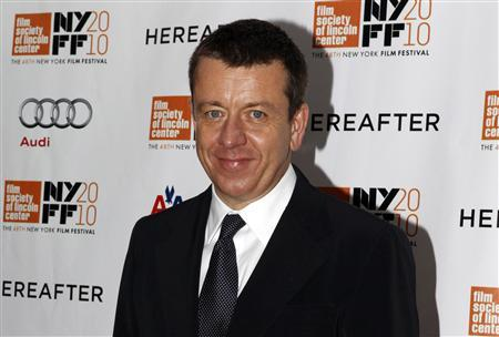 Screenwriter Peter Morgan arrives at the closing night screening of ''Hereafter'' at the 48th New York Film Festival October 10, 2010. REUTERS/Jessica Rinaldi