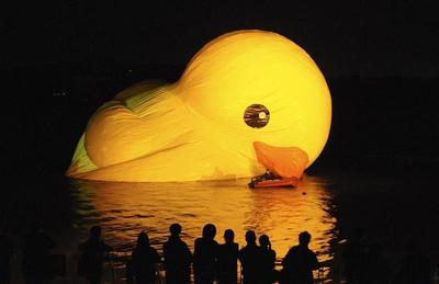 Rubber Duck craze