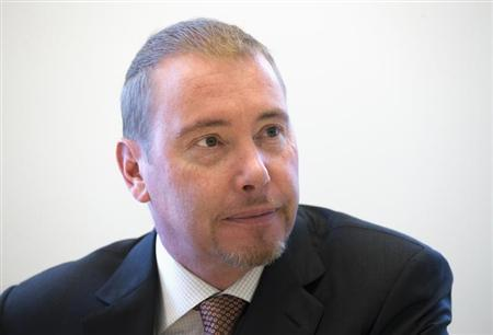 Jeffrey Gundlach, star bond investor and head of DoubleLine Capital LP, is photographed during an interview in New York May 15, 2013. REUTERS/Adrees Latif