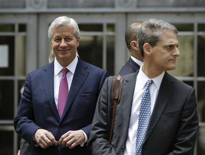JPMorgan's Dimon meets with U.S. Attorney General...