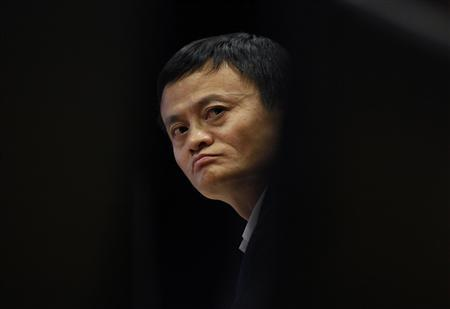 Jack Ma, chairman of China's largest e-commerce firm Alibaba Group attends a corporate event at the company's headquarters on the outskirts of Hangzhou, Zhejiang province in this April 23, 2013 file photo. REUTERS/Carlos Barria/Files