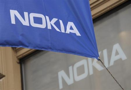 The flagship store of Finnish mobile phone manufacturer Nokia is pictured in Helsinki September 7, 2012. REUTERS/Sari Gustafsson/Lehtikuva