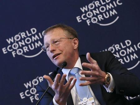 Nils Smedegaard Andersen Group Chief Executive Officer of A.P. Moller-Maersk attends the annual meeting of the World Economic Forum (WEF) in Davos January 26, 2013. REUTERS/Pascal Lauener