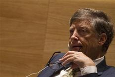 Imagen de archivo de Bill Gates durante un evento de las Metas de Desarollo para el Milenio en la sede de Naciones Unidas en Nueva York, sep 25 2013. Tres de los principales 20 inversores de Microsoft Corp están ejerciendo presión sobre el directorio para que Bill Gates renuncie a la presidencia de la compañía de software que fundó hace 38 años, dijeron personas familiarizadas con el asunto. REUTERS/Brendan McDermid