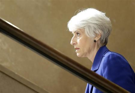U. S. Under Secretary of State for Political Affairs Wendy Sherman arrives for a meeting on Syria at the United Nations European headquarters in Geneva June 25, 2013. REUTERS/Denis Balibouse