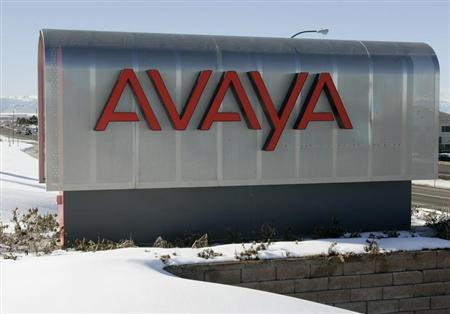 The sign at Avaya Inc. offices and lab in Westminster, Colorado is seen January 23, 2007. REUTERS/Rick Wilking