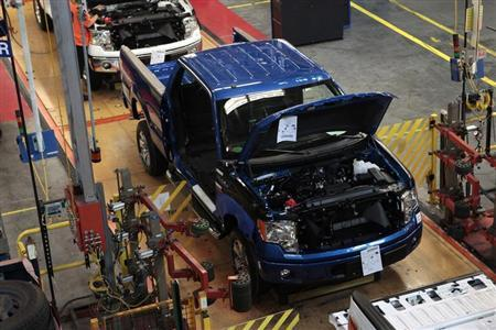 Ford targets one third increase in capacity within five for Ford motor company wayne mi