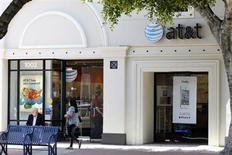 """Le directeur général d'AT&T, Randall Stephenson, estime que l'Europe peut offrir une """"énorme opportunité"""" d'investissement dans les télécommunications à haut débit, à condition de modifier et d'harmoniser le fonctionnement de son marché. /Photo d'archives/REUTERS/Danny Moloshok"""