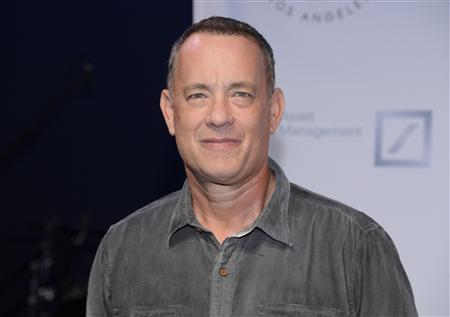 Tom Hanks attends The Shakespeare Center of Los Angeles 23rd Annual Simply Shakespeare benefit reading of ''The Two Gentlemen of Verona'' in Santa Monica, California in this September 25, 2013, file photo. REUTERS/Phil McCarten/Files