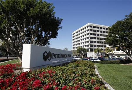 The headquarters of investment firm PIMCO is shown in this photo taken in Newport Beach, California in this January 26, 2012 file photo. REUTERS/Lori Shepler/Files