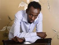 "Somali actor Barkhad Abdi poses for a portrait during a media publicity event for the film ""Captain Phillips"" in Los Angeles in this file photo from September 30, 2013. REUTERS/Phil McCarten/Files"
