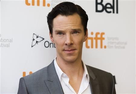 Actor Benedict Cumberbatch arrives for the film screening of ''12 Years a Slave'' at the 38th Toronto International Film Festival in Toronto, September 6, 2013. REUTERS/Mark Blinch