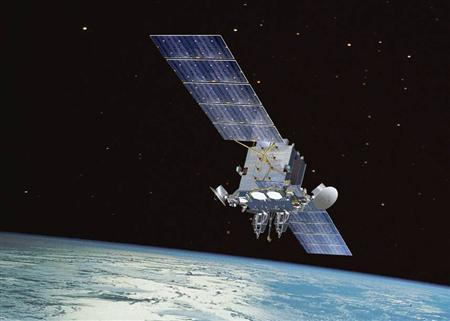 An Advanced Extremely High Frequency (AEHF) satellite is seen in an undated handout artist's rendering. REUTERS/Los Angeles Air Force Base/Handout via Reuters