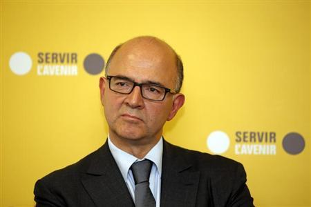 French Finance Minister Pierre Moscovici attends the inauguration of the BPI Franche-Comte regional branch in Besancon October 4, 2013. REUTERS/Benoit Tessier