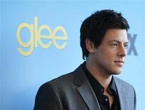 """Foto de arquivo do ator canadense Cory Monteith, em Los Angeles. A série musical """"Glee"""" despediu-se na quinta-feira do amável personagem Finn Hudson, interpretado pelo falecido ator Cory Monteith, numa homenagem que incluiu canções, lembranças e lágrimas, mas sem uma explicação sobre a morte do personagem. 12/04/2010 REUTERS/Mario Anzuoni"""