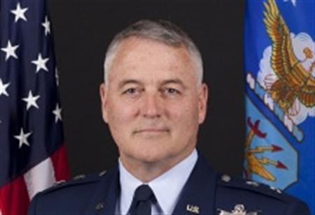 United States Air Force Major General Michael Carey is seen in an undated handout photo. Carey, a two-star general overseeing the U.S. arsenal of intercontinental missiles, was fired on Friday for personal misbehavior, the Air Force said, adding the matter was not tied to the readiness or security of America's nuclear missiles. REUTERS/US Air Force/Handout via Reuters