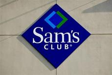 The Sam's Club logo is seen at a store in Bentonville, Arkansas on June 2, 2011. REUTERS/Sarah Conard