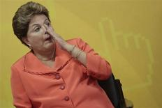 Presidente Dilma Rousseff, que inaugurou unidades habitacionais do programa Minha Casa, Minha Vida na Bahia nesta terça-feira, em foto de arquivo em Brasília. 27/09/2013 REUTERS/Ueslei Marcelino
