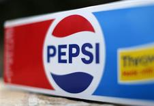 A case of Pepsi Cola is shown in this photo illustration in Encinitas, California in this October 10, 2013, file photo. REUTERS/Mike Blake/Files