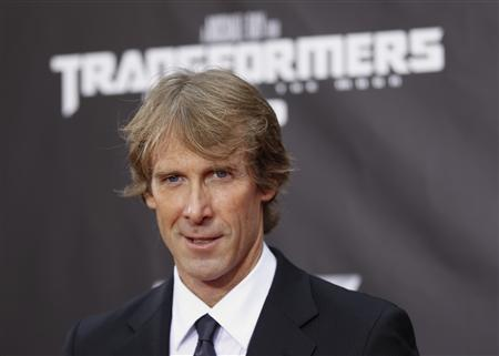 Director Michael Bay arrives for the premiere of Transformers: Dark of The Moon in Times Square in New York June 28, 2011. REUTERS/Lucas Jackson