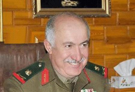 An undated handout photograph distributed by Syria's national news agency SANA shows top-ranking general in Syrian military intelligence, General Jama'a Jama'a who was killed in Deir al-Zor city on October 17, 2013, in northeastern Syria. REUTERS/SANA/Handout via Reuters