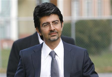 EBay founder and chairman Pierre Omidyar in Delaware, December 7, 2009. REUTERS/Tim Shaffer