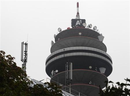 A communications tower is pictured at Telekom Austria's technology centre in Vienna August 27, 2013. REUTERS/Heinz-Peter Bader