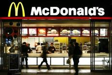 Restaurante da rede McDonald's em Tóquio. O McDonald's anunciou uma alta de 4,1 por cento em seu lucro trimestral, embora as vendas globais em restaurantes estabelecidos tenham ficado marginalmente abaixo das expectativas de analistas. 29/11/2008. REUTERS/Stringer
