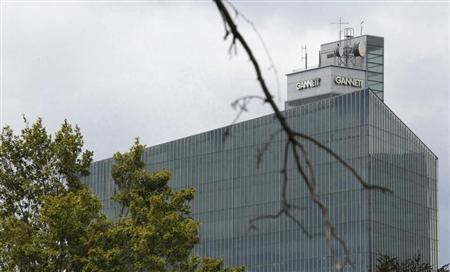 The corporate headquarters building of Gannett Co is seen in McLean, Virginia, July 23, 2013. REUTERS/Larry Downing