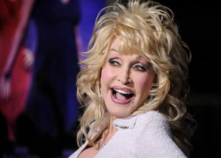 Actress and singer Dolly Parton arrives at the Hollywood premiere of ''Joyful Noise'' in Los Angeles, California January 9, 2012. REUTERS/Gus Ruelas/Files