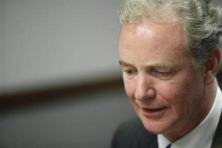 U.S. Representative Chris Van Hollen (D-MD) speaks with reporters at the Reuters Washington Summit in Washington October 22, 2013. REUTERS/Jonathan Ernst