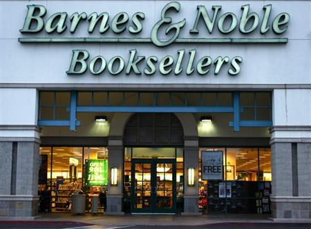 A Barnes and Noble book store is shown here in Encinitas in this May 20, 2008 file photo. REUTERS/Mike Blake