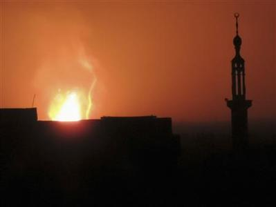 Much of Syria blacked out by rebel attack on gas pipeline thumbnail