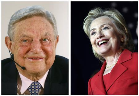 George Soros began funding for Hillary Clinton 2016 Presidential run