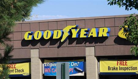 The Goodyear Tire and Rubber Co storefront is seen in Westminster, Colorado August 27, 2013. REUTERS/Rick Wilking