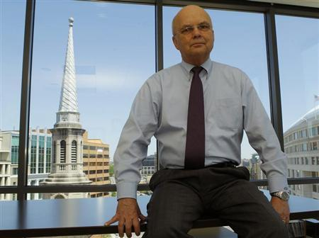 Retired U.S. Air Force General Michael Hayden is pictured in his office in Washington May 1, 2013. Picture taken May 1, 2013. REUTERS/Gary Cameron