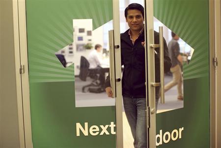 Nextdoor CEO Nirav Tolia poses for a portrait at the company's headquarters in San Francisco, California February 11, 2013. REUTERS/Robert Galbraith