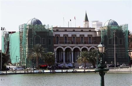 A view of the Central Bank of Libya in central Tripoli October 31, 2011. REUTERS/Ismail Zitouni