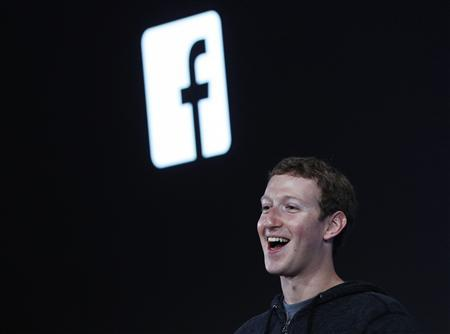 Mark Zuckerberg, Facebook's co-founder and chief executive introduces 'Home' a Facebook app suite that integrates with Android during a Facebook press event in Menlo Park, in this California, April 4, 2013, file photo. REUTERS/Robert Galbraith/Files